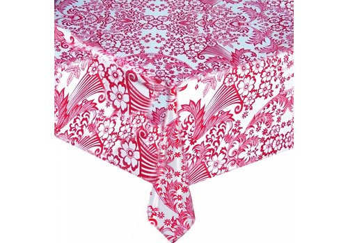 MixMamas Tafelzeil op rol Paraiso roze