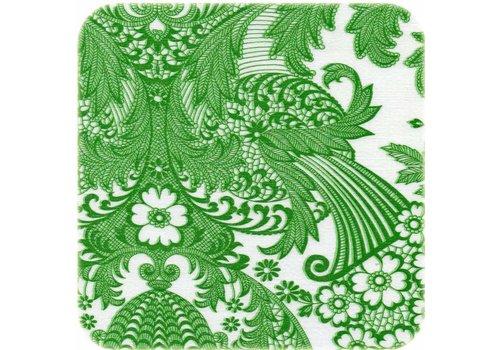 MixMamas Tafelzeil Paraiso / Barok - Rol - 120 cm x 11 m - Groen