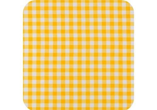 MixMamas Tafelzeil op rol Ruit groot geel