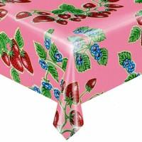 Mexicaans tafelzeil 2m bij 1.20m, Aardbei roze