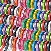 MixMamas Bonfim lint Rol 43m - Mulitpack 55 stuks - Roze, Oranje, Lichtroze, Paars, Rood