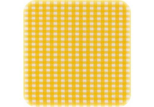 MixMamas Tafelzeil 120cm Ruitje geel