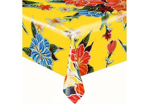 MixMamas Tafelzeil Fortin Vierkant - 120 x 120 cm - Geel