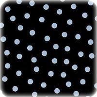 Mexicaans Tafelzeil vierkant 1,20m bij 1,20m Zwart-wit stip