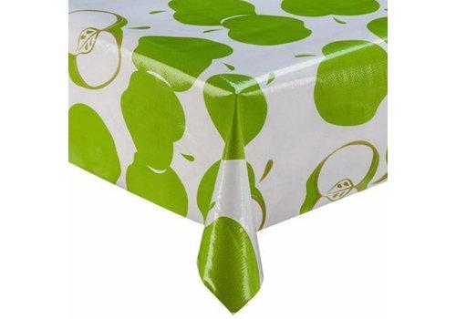 MixMamas Tafelzeil Appels - 120 x 200 cm - Groen
