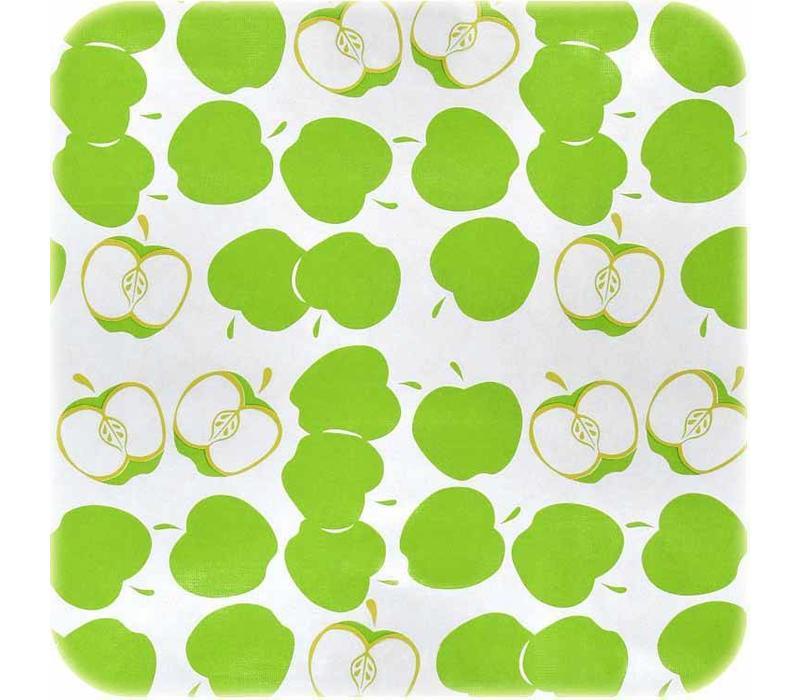 Mexicaans tafelzeil 2m bij 1.20m, Appels groen