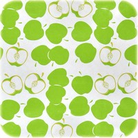 Mexicaans Tafelzeil Appels - 120 x 300 cm - Lichtgroen