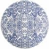 MixMamas Rond tafelzeil 120cm paraiso blauw SALE