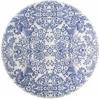 Rond tafelzeil 120cm paraiso blauw SALE