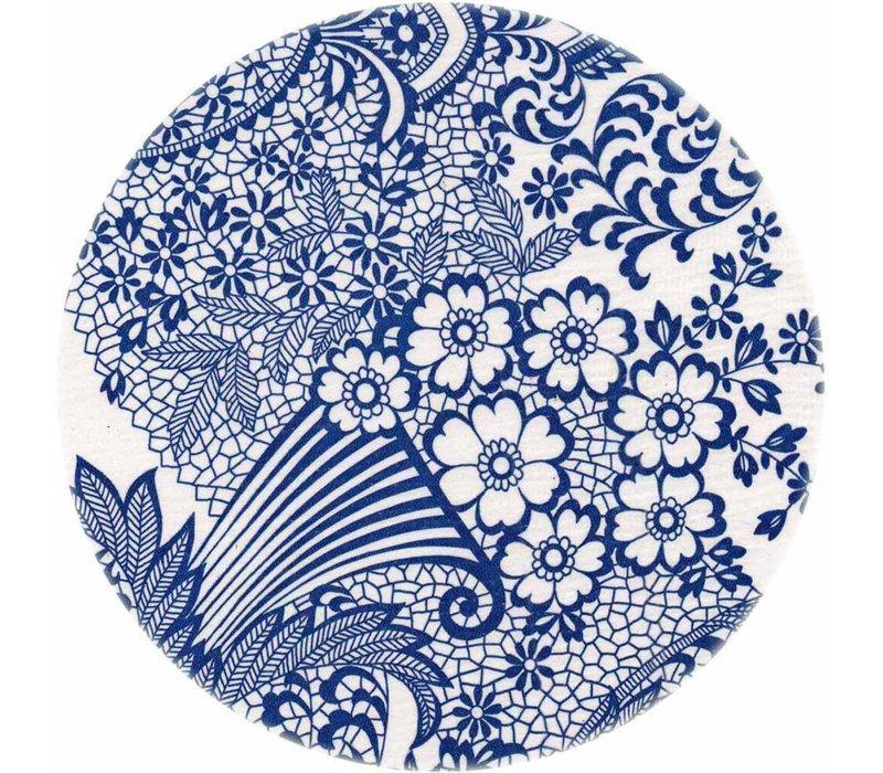 Rond tafelzeil 120cm paraiso blauw