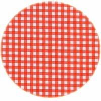 Tafelzeil Rond - Ø 120 cm - Ruitje - Oranje
