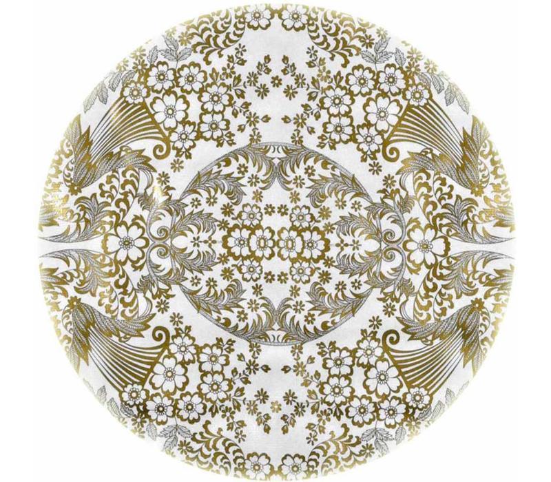 Rond tafelzeil 120cm paraiso goud rond
