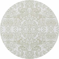 Mexicaans Tafelzeil Rond - Ø 120 cm - Paraïso / Barok - Goud