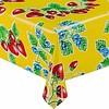 MixMamas Mexicaans Tafelzeil Aardbei - 120 x 200 cm - Geel