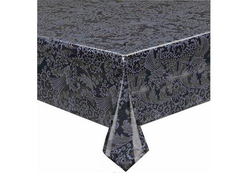 MixMamas Tafelzeil Paraïso / Barok - 120 x 300 cm - Zwart/Grijs