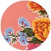 MixMamas Rond tafelzeil 120cm Chrysant zalmrose
