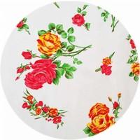 Rond tafelzeil 120cm rosedal wit