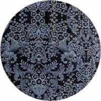 Rond tafelzeil 120cm paraiso zwartgrijs