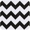 MixMamas Mexicaans Tafelzeil 3m bij 1,20m zigzag zwart