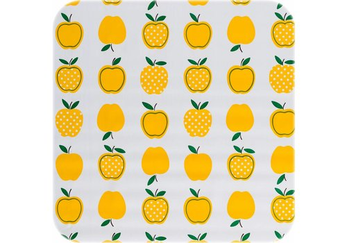 MixMamas Tafelzeil Appels Stippels - 120 x 300 cm - Geel
