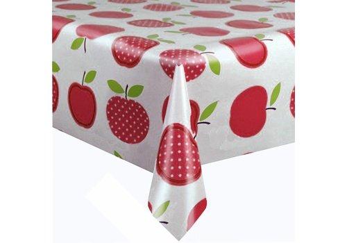 MixMamas Tafelzeil 3m Appels stippels rood