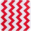 MixMamas Mexicaans Tafelzeil Zigzag - 120 x 200 cm - Rood
