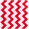 MixMamas Mexicaans Tafelzeil Zigzag - 120 x 300 cm - Rood