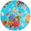 MixMamas Rond tafelzeil 120cm Chrysant lichtblauw