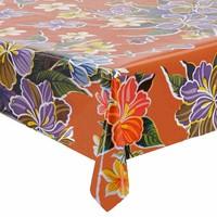 Mexicaans Tafelzeil Fortin Vierkant - 120 x 120 cm - Oranje