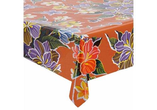 MixMamas Tafelzeil Fortin Vierkant - 120 x 120 cm - Oranje