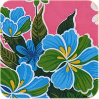 Tafelzeil Fortin Vierkant - 120 x 120 cm - Roze