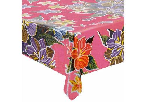 MixMamas Tafelzeil Fortin Vierkant - 120 x 120 cm - Roze