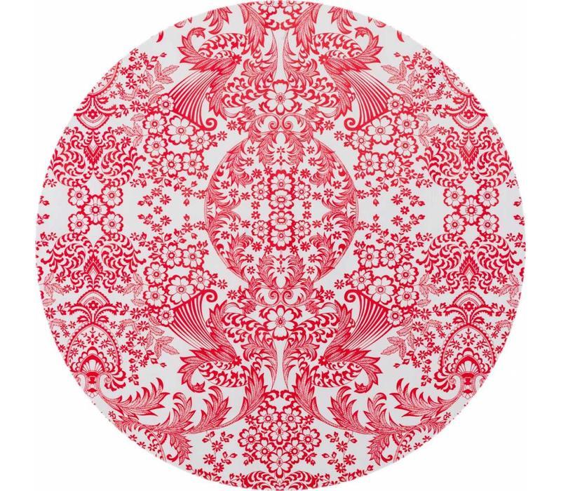 Rond tafelzeil 120cm Eden, Paraiso rood