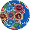 MixMamas Rond tafelzeil 120cm Floral blauw