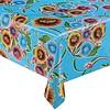 MixMamas Tafelzeil Bloom / Floral - 120 x 200 cm - Lichtblauw