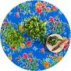 MixMamas Rond tafelzeil 120cm vlinder blauw