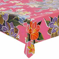 Mexicaans Tafelzeil Fortin - 120 x 300 cm - Roze