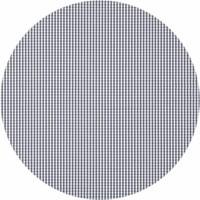 Rond Tafelkleed Gecoat - Ø 160 cm - Ruitje - Grijs