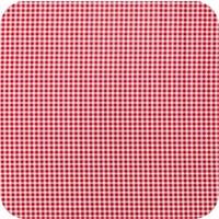 Mexciaans Tafelzeil 2,5m bij 1,20m Ruitje rood