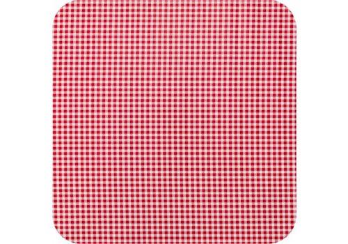 MixMamas Tafelzeil 2,5m Ruitje rood