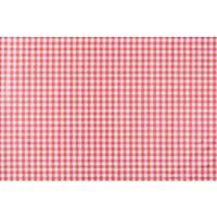 Tafelzeil Ruitje - Rol - 140 cm x 20 m - Rood