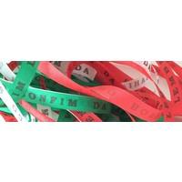 Bonfim lint - Set van 20 Bonfim Lintjes 43 cm - Italiaans - Rood/Wit/Groen
