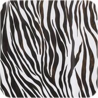Mexicaans Tafelzeil Zebra - Rol - 120 cm x 11 m - Zwart