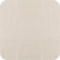 Tafelkleed Gecoat Linnen Stippen - 140 x 250 cm - Beige/Crème
