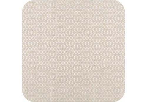 MixMamas Gecoat tafelkleed 2,5m linnen Beige