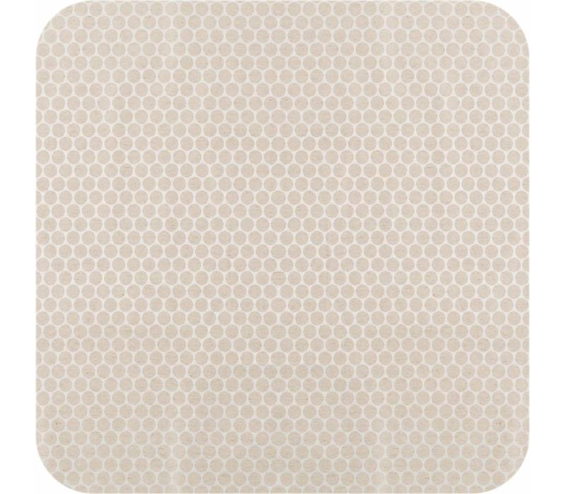 Gecoat  tafelkleed linnen Beige 2,5m x 1,4m