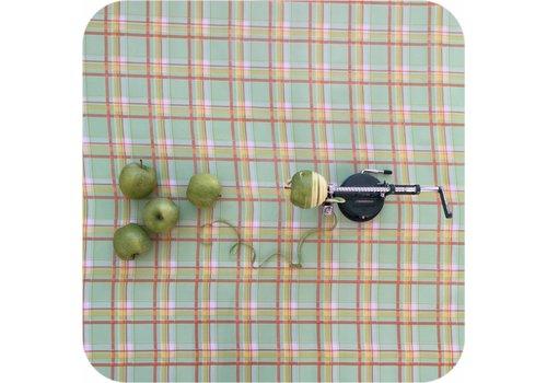 MixMamas Tafelzeil op rol Schotse Ruit groen