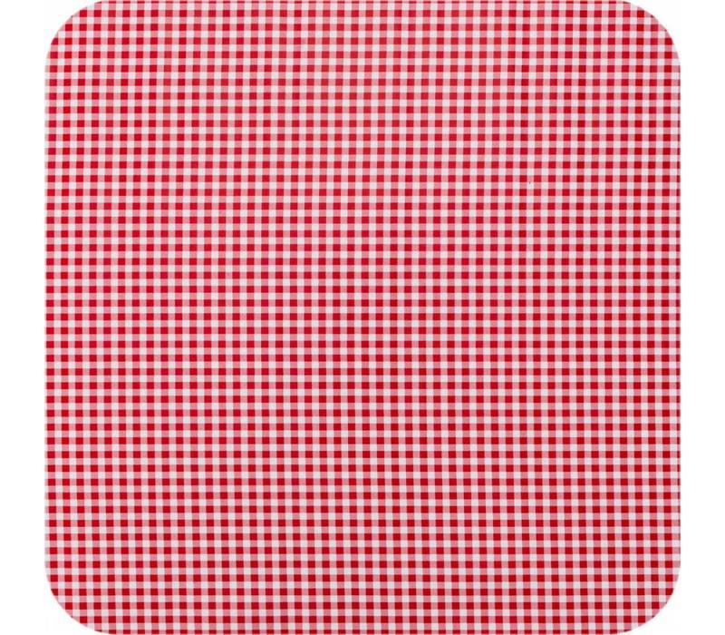 Tafelzeil Ruitje - 120 x 200 cm - Rood