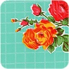 MixMamas Tafelzeil Rozendal - 120 x 300 cm - Mintgroen