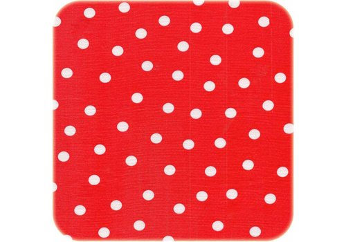 MixMamas Tafelzeil 3m roodwit stip